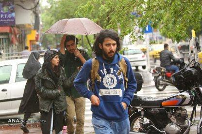 Tehran, Iran - Sudden spring rain in Tehran 12