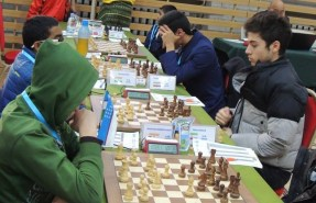 2016 Asian Youth Chess Championship - Arash Tahbaz from Iran - 1