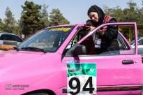 Peykan Pour, Leila - Iranian racing driver - Winner - Kia Pride Championship in Azadi Sports Complex, Tehran - July 2016 - 04