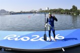 Rio 2016 - Canoe Sprint - Canoe Single 200m - Adel Mojallali - Olympic Games in Rio de Janeiro, Brazil - (ISCA) 01