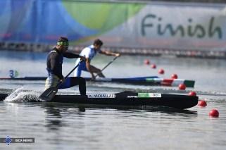 Rio 2016 - Canoe Sprint - Canoe Single 200m - Adel Mojallali - Olympic Games in Rio de Janeiro, Brazil - (ISCA) 03