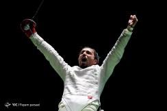 Rio 2016 - Fencing - Men's Sabre Individual - Mojtaba Abedini (Iran) - Olympic Games in Rio de Janeiro, Brazil - Foto Javid Nikpour (YJC)