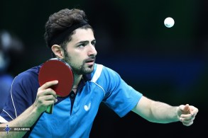 Rio 2016 - Table Tennis - Qualifying - Nima Alamian - 02 - Olympic Games in Rio de Janeiro, Brazil - ISCA News