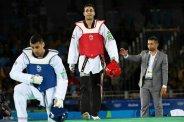 Rio 2016 - Taekwondo - Men's 80kg plus - Sajjad Mardani - Olympic Games in Rio de Janeiro, Brazil - Photo Mehr News