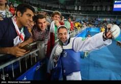 Rio 2016 - Taekwondo - Women's -57kg - Kimia Alizadeh Zenoorin (Bronze medal winner) - Olympic Games in Rio de Janeiro, Brazil - Foto M. Hassanzadeh (TNA)