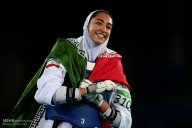 Rio 2016 - Taekwondo - Women's -57kg - Kimia Alizadeh Zenoorin (Bronze medal winner) - Olympic Games in Rio de Janeiro, Brazil - Foto Mehdi Zare (MNA)