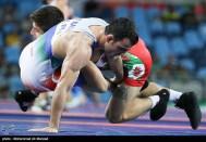 Rio 2016 - Wrestling - Freestyle 65kg - Meisam Abolfazl Nasiri (Meysam Nassiri) - Olympic Games in Rio de Janeiro, Brazil - Photo Mohammad Hassanzadeh (Tasnim)