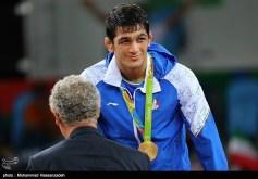 Rio 2016 - Wrestling - Freestyle 74kg - Hassan Aliazam Yazdanicharati (Hassan Yazdani Cherati) - Gold medal winner - Olympic Games in Rio de Janeiro, Brazil - Photo M. Hassanzadeh (Tasnim)