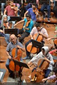 Tehran Symphony Orchestra and World Youth Orchestra - Rehearsal - Tehran, Iran - Foto by Bahareh Asadi for Honar Online - 2