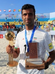2017 Fifa Beach Soccer World Cup - Mohammad Ahmadzadeh - Winner adidas Golden Ball and Bronze Scorer