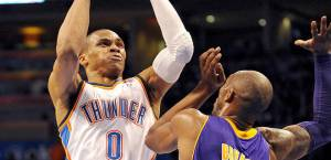 Westbrook leads OKC with 37