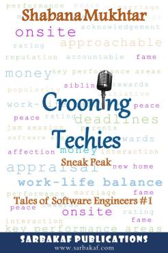 Buy here: https://www.amazon.in/Crooning-Techies-Sneak-software-engineers-ebook/dp/B07H423XDZ/ref=asap_bc?ie=UTF8