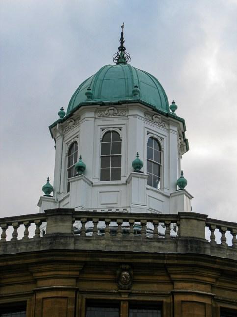 Sheldonian - the cupola