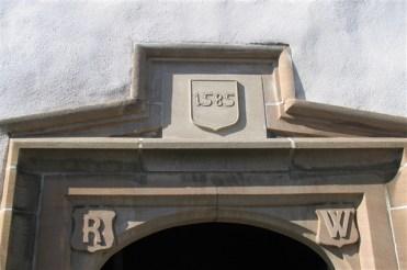 Plas Mawr - door lintel