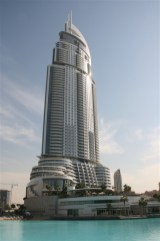 Typical Dubai architecture - typical in that every building is different and many of them quite unusual