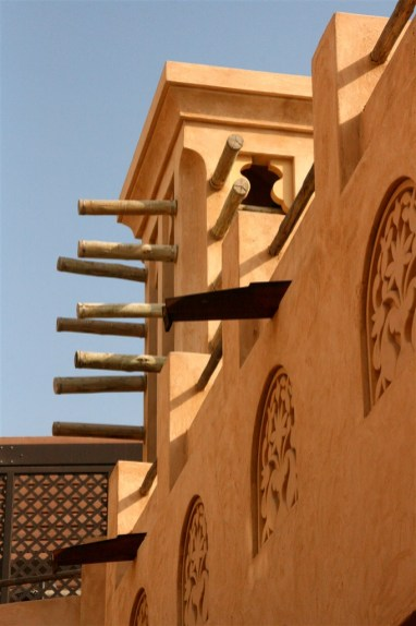 Madinat Jumeirah - architecture in the traditional style - the wind towers are especially evocative