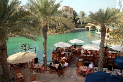 Madinat Jumeirah - this is where we had lunch