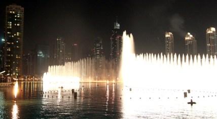 The spectacular Dubai Fountain