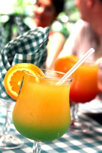 Rum punch, of course