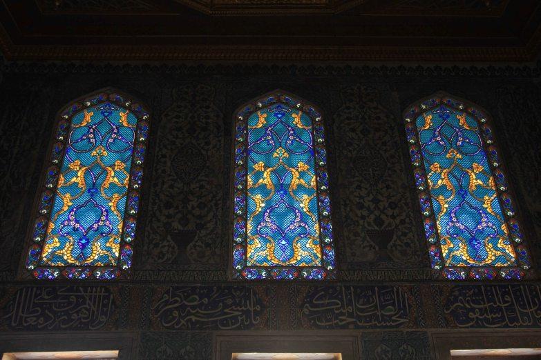 Topkapi Palace - beautiful stained glass