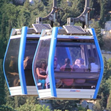 The cable car