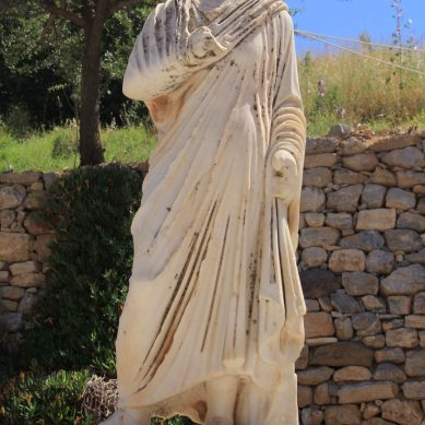 Classic Roman fashion.
