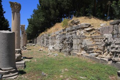 The agora - the ancient world's shopping mall.