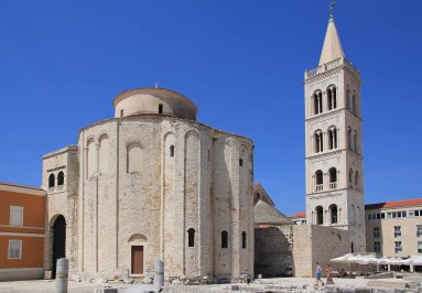 Romanesque cathedral of St Donat