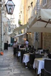 Lots of appealing little cafes