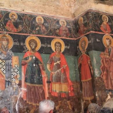 17th century frescoes