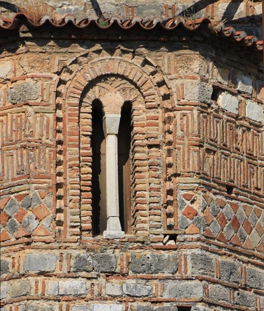 Elaborate brickwork