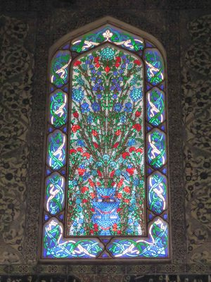 Topkapi Palace - particularly nice stained glass