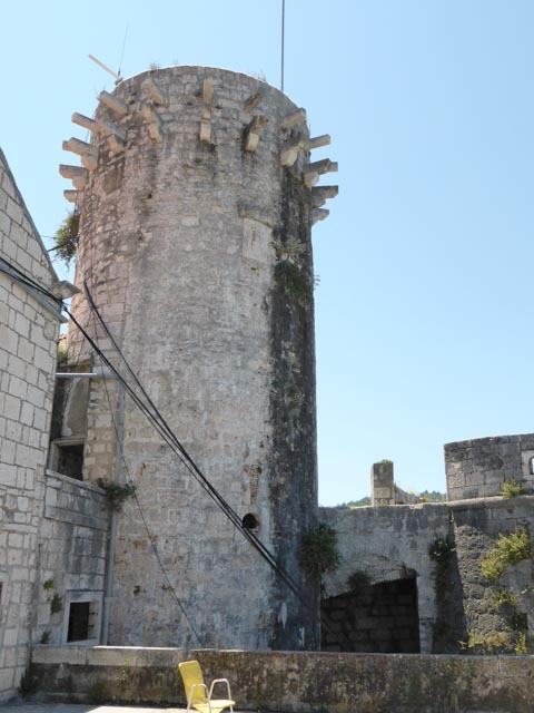 One of the defensive towers from the middle ages