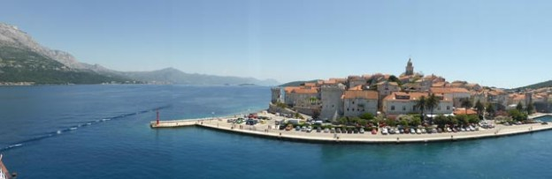 Korcula from the ship