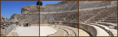 The amphitheatre. Too big for a single photo.