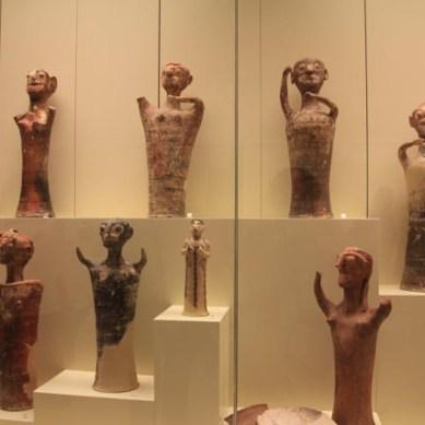 In the Mycenae museum