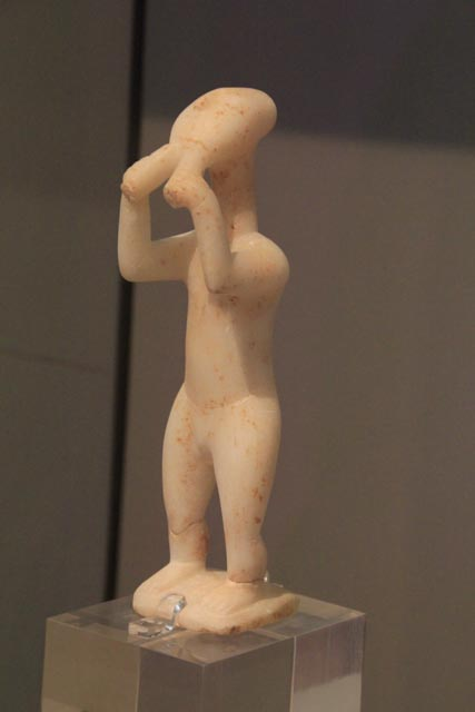 Figure of a flautist - ~2500BC