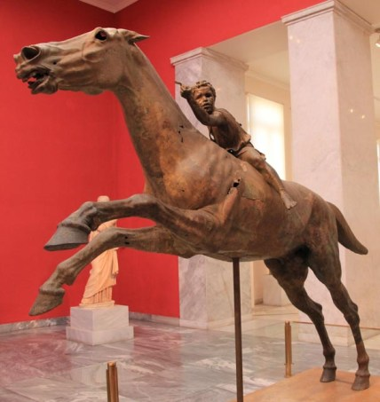 The Jockey of Artemision 150BC