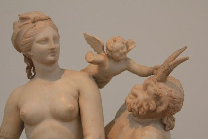 Aphrodite, Pan and Eros 100BC