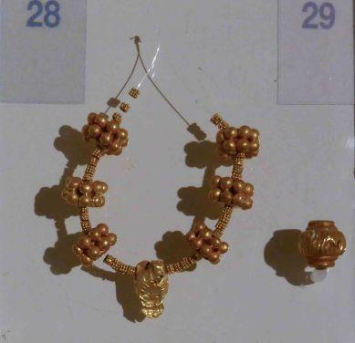 Gold Beads (1400-1300BC)
