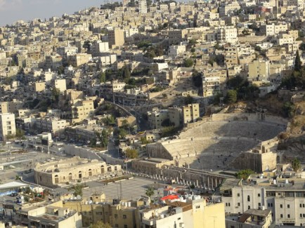 Amman - view from the Citadel