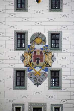 The city seal on the old town hall