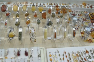Poland is the amber capital of the world, and pretty much every shop in Mariacka St was selling amber.