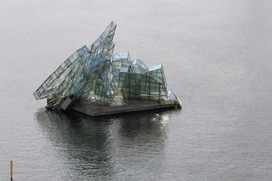 This is an interpretation of Caspar David Friedrich's 19th C painting The Sea of Ice