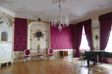 The front drawing room was designed to impress