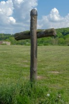 Cross dedicated to Harald Bluetooth, the first Christian Viking.