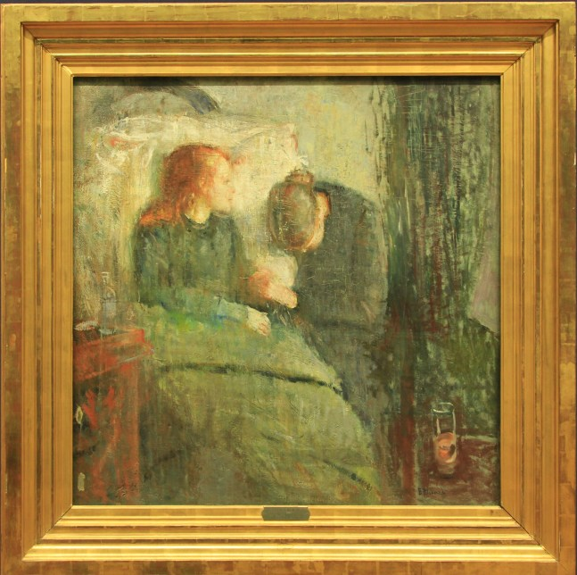 The Sick Child by Munch