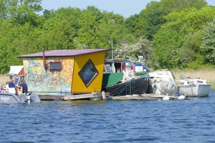 Shanty-town at Christiania
