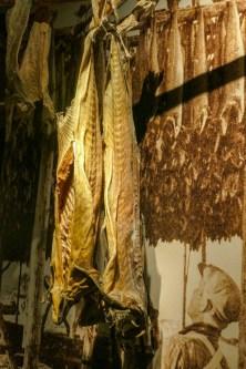 Dried cod.