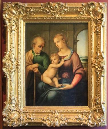 """Rafaello (1483-1520) """"The Holy Family"""""""